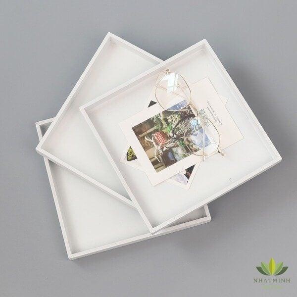 khay gỗ trang trí chụp ảnh