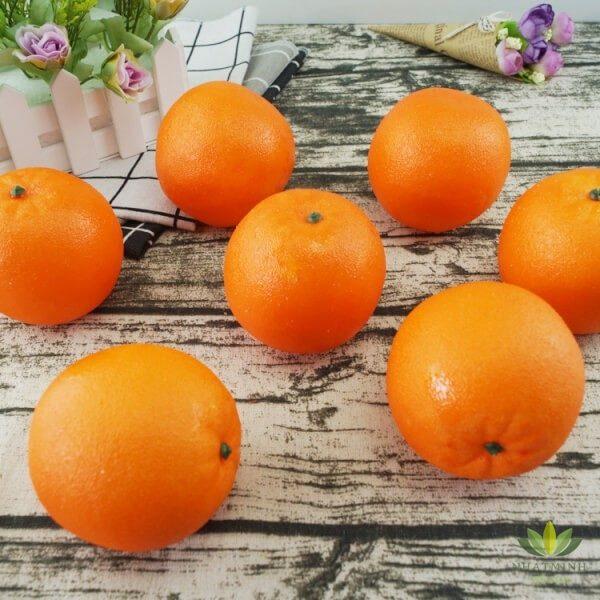 quả cam nhựa