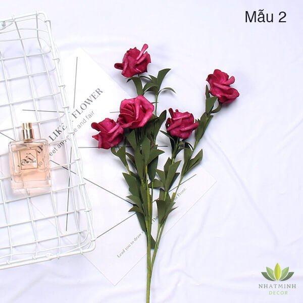 Cành hoa Hồng trang trí chụp ảnh sản phẩm 2