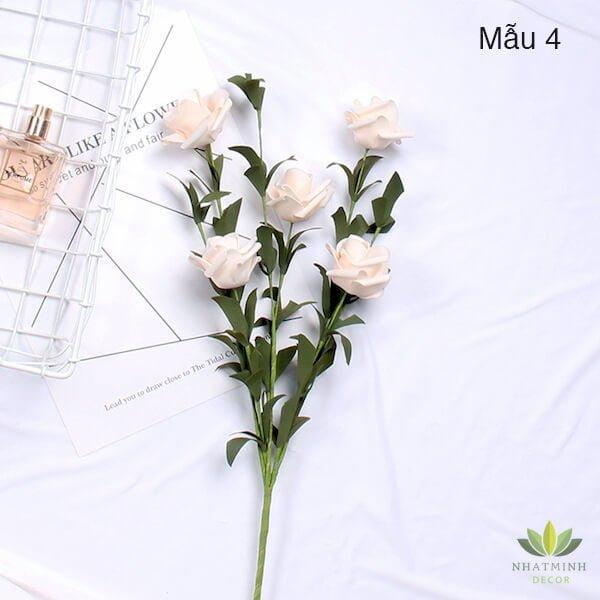 Cành hoa Hồng trang trí chụp ảnh sản phẩm 3