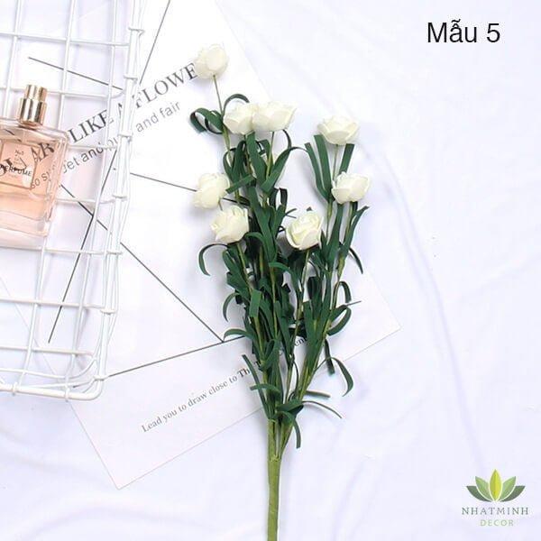 Cành hoa Hồng trang trí chụp ảnh sản phẩm 4