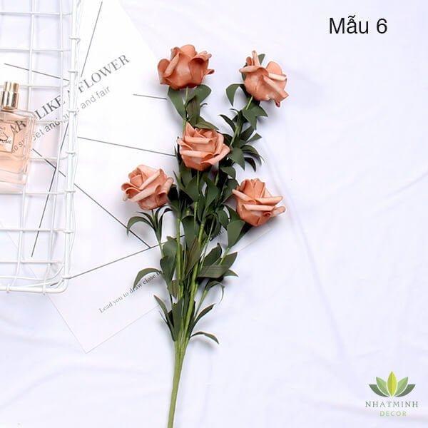 Cành hoa Hồng trang trí chụp ảnh sản phẩm 5