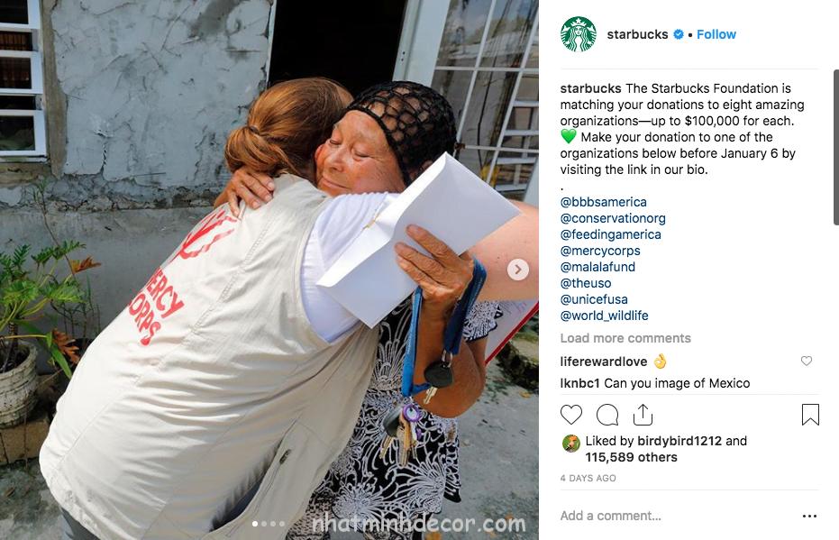 mo ta bai viet starbucks - 15 mẹo hay nhất để tăng Follower Instagram của bạn vào năm 2019