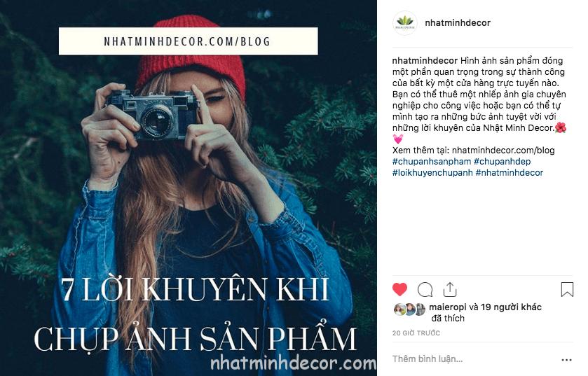 su dung hashtag 2 - 15 mẹo hay nhất để tăng Follower Instagram của bạn vào năm 2019