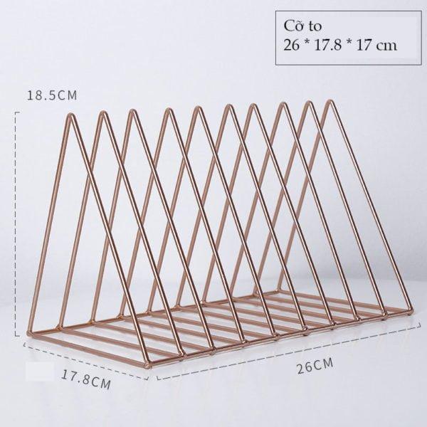 Kệ tam giác đựng sách, tài liệu 7