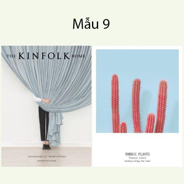 Bìa tạp chí trang trí chụp ảnh 2 mặt phong cách Hàn Quốc 11
