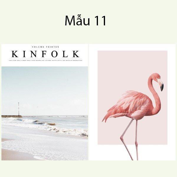 Bìa tạp chí trang trí chụp ảnh 2 mặt phong cách Hàn Quốc 13