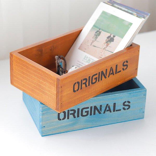 Hộp gỗ để bàn Originals 2