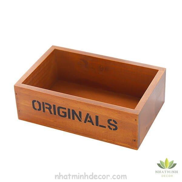 Hộp gỗ để bàn Originals 8