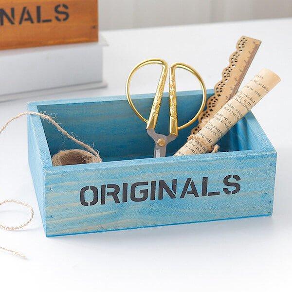 Hộp gỗ để bàn Originals 3