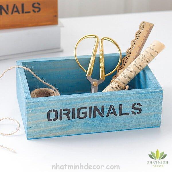 Hộp gỗ để bàn Originals 7