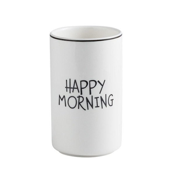 Ly sứ trắng Morning 4