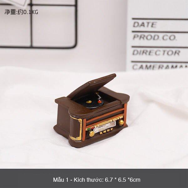 Mô hình mini phong cách retro 4