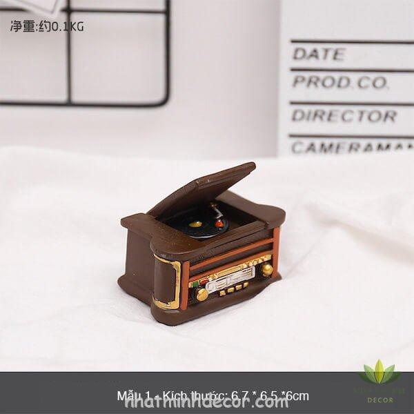 Mô hình mini phong cách retro 14