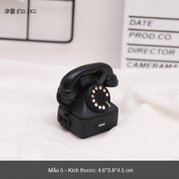 Mô hình mini phong cách retro 8