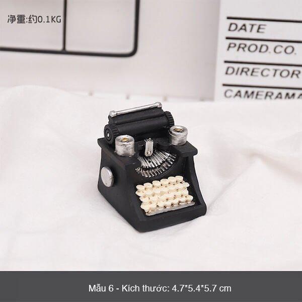 Mô hình mini phong cách retro 9