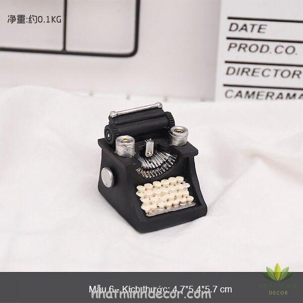 Mô hình mini phong cách retro 19