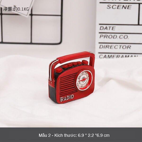 Mô hình mini phong cách retro 5