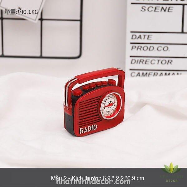 Mô hình mini phong cách retro 15