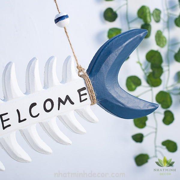 Bảng trang trí Welcome phong cách Địa Trung Hải 4