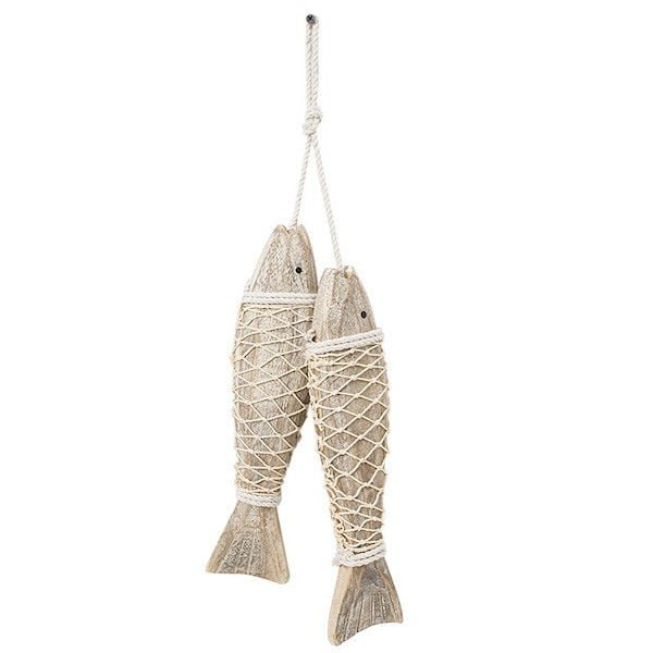 Cá gỗ treo tường 4