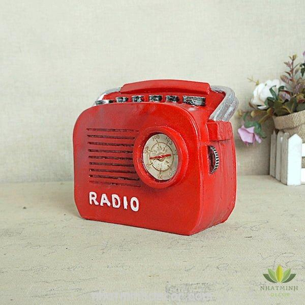 Mô hình radio phong cách Retro 5