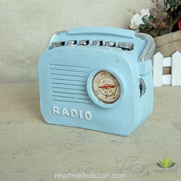 Mô hình radio phong cách Retro 6