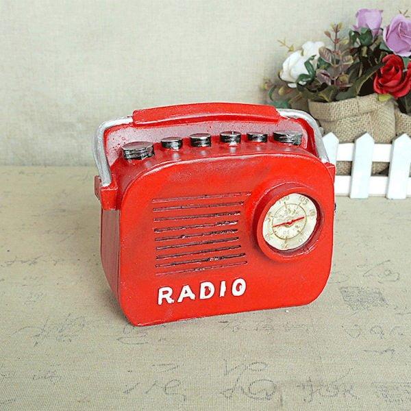 Mô hình radio phong cách Retro 3