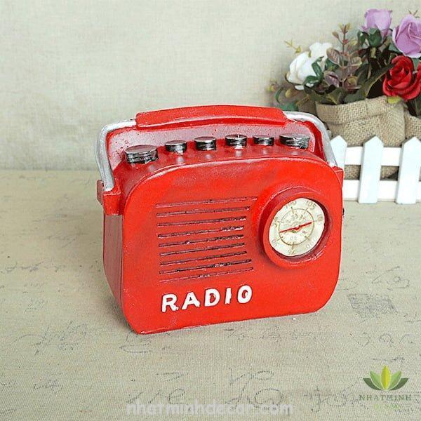 Mô hình radio phong cách Retro 7