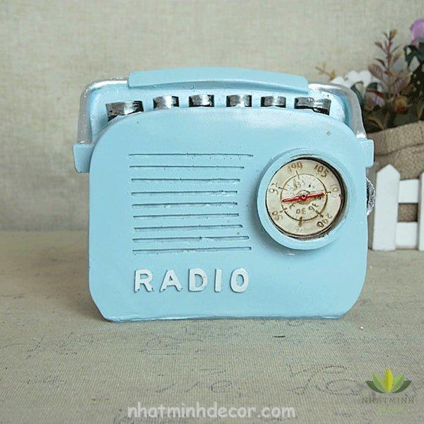 Mô hình radio phong cách Retro 8