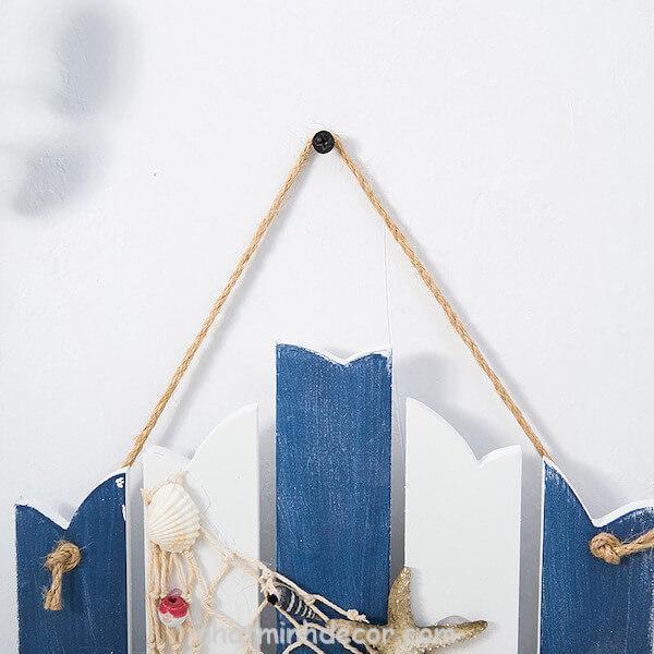Bảng gỗ WELCOME phong cách biển 2