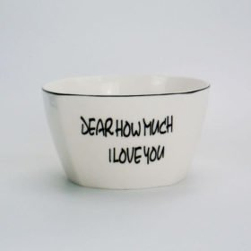 Dear how much I love you