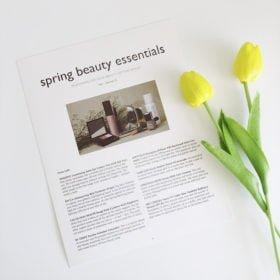 Mẫu 5 - Spring Beauty