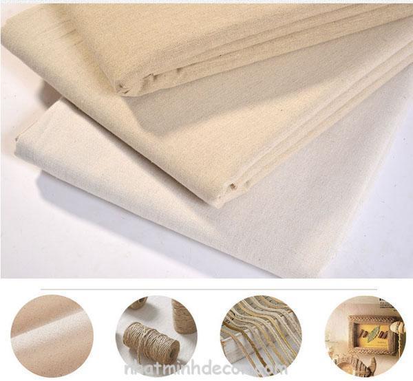 Vải lanh chụp ảnh sản phẩm, làm đồ handmade... 4
