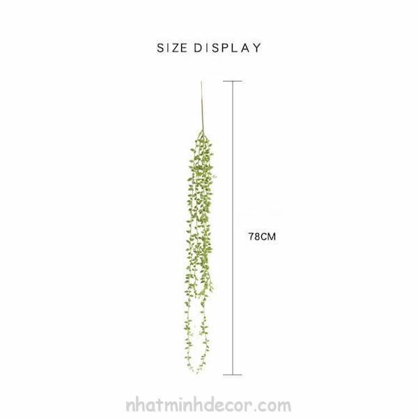 Chùm hoa nhựa xanh trang trí nhà cửa 3