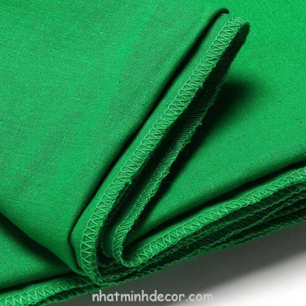 Phông vải quay phim xanh lá Cotton Muslin cao cấp 1