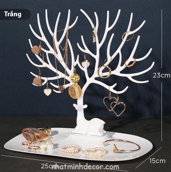 Giá treo trang sức để bàn 3