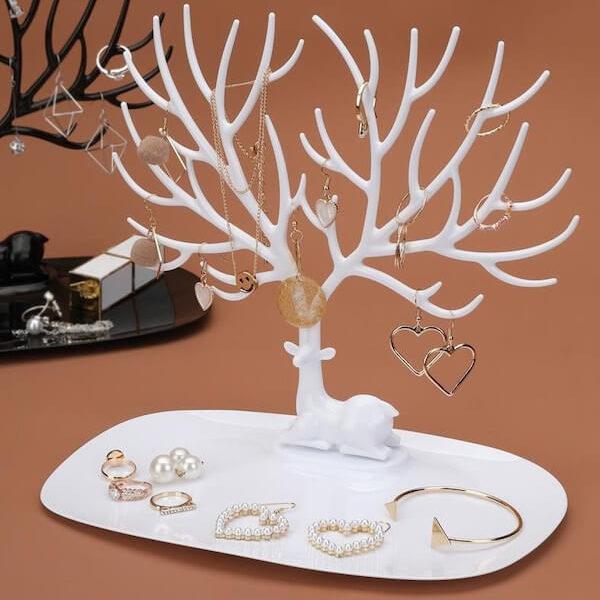 Giá treo trang sức để bàn 6