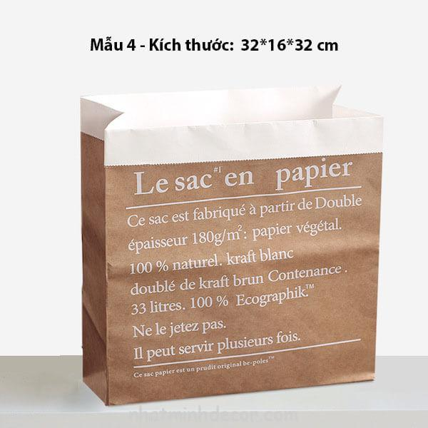 Túi giấy kraft trang trí chụp ảnh 6
