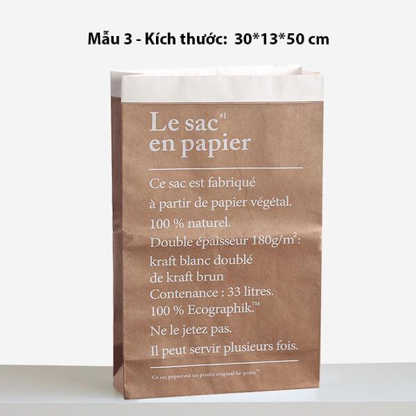 Túi giấy kraft trang trí chụp ảnh 11