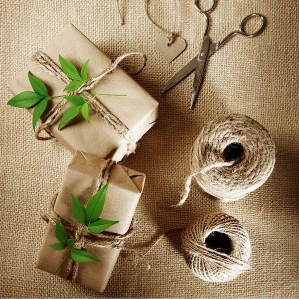 Cuộn dây gai decor, làm đồ handmade 7
