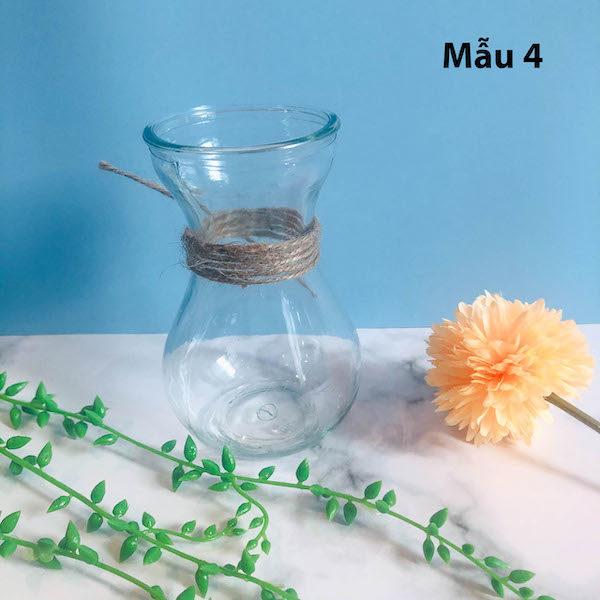 Bình bông lọ hoa thủy tinh 8
