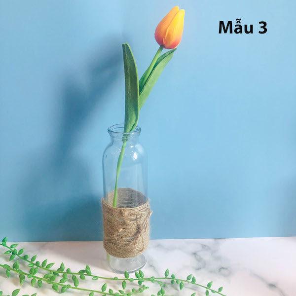 Bình bông lọ hoa thủy tinh 7