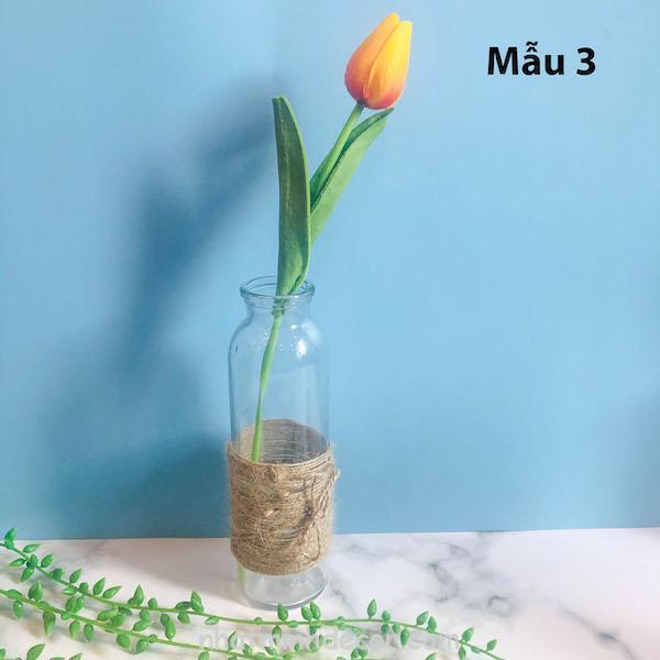 Bình bông lọ hoa thủy tinh 3