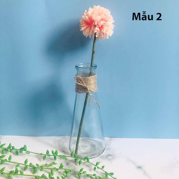 Bình bông lọ hoa thủy tinh 6