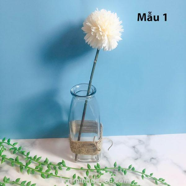 Bình bông lọ hoa thủy tinh 1
