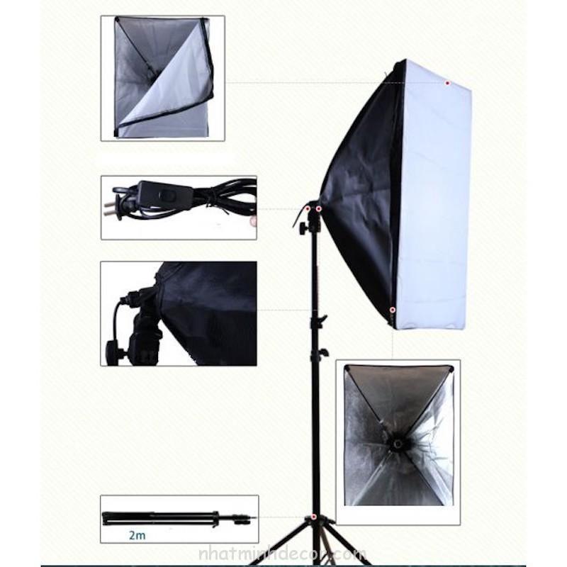 Đèn softbox chụp ảnh sản phẩm 2