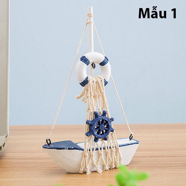 Mô hình con thuyền phong cách Santorini 7