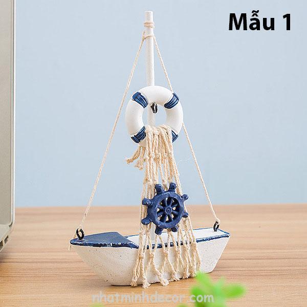 Mô hình con thuyền phong cách Santorini 2