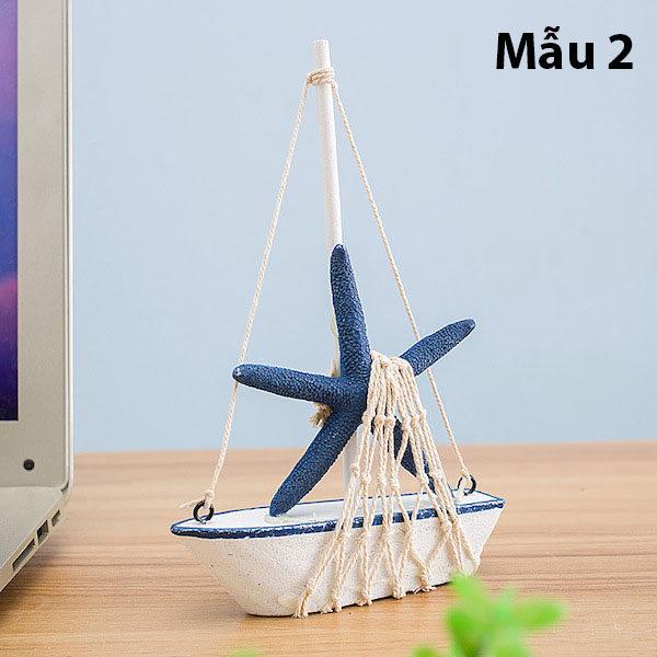 Mô hình con thuyền phong cách Santorini 8